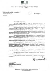 courrier secrétaire d'état à FD CGT Cheminots
